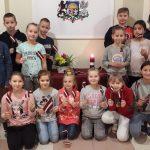 Svētku foto ar skolēniem