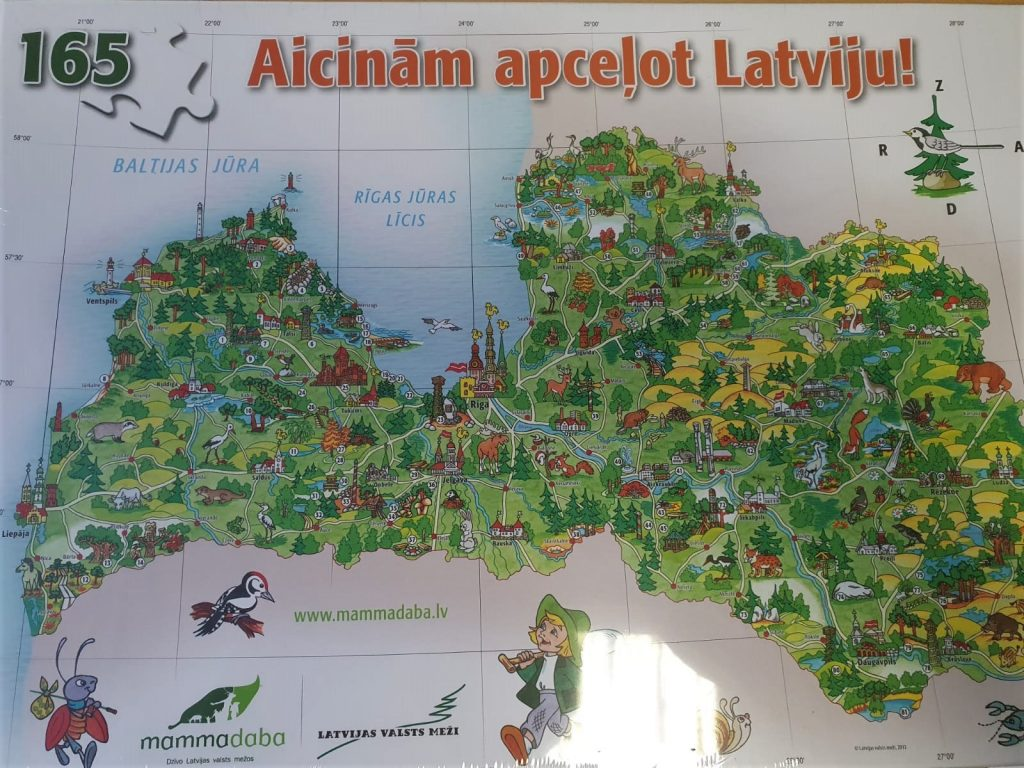 Viktorīnas konkurss - aicinām apceļot Latviju!