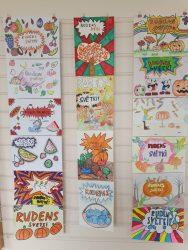 Rudenīgs Skolotāju dienas sveiciens popārta stilā - skolēnu radošums